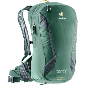 Deuter Race EXP Air Selkäreppu 14+3l, seagreen-graphite